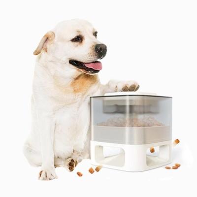 반려동물 버튼식 사료 급식기