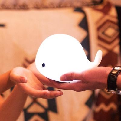 말랑터치 아기고래 무드등 LED무드등 인테리어무드등