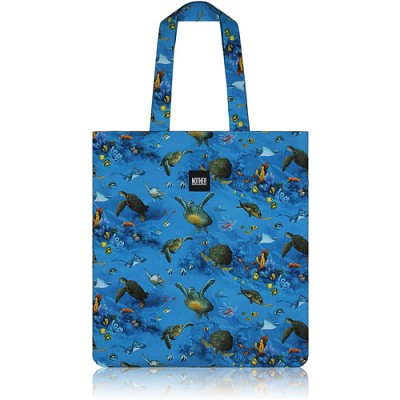 nother Sea Turtles Flat Tote / 나더 바다거북 플랫 토트백