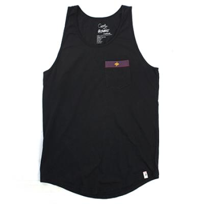 [Altamont] PALISADE X GARRETT HILL SIGNATURE WASH TANK TOP (Black)