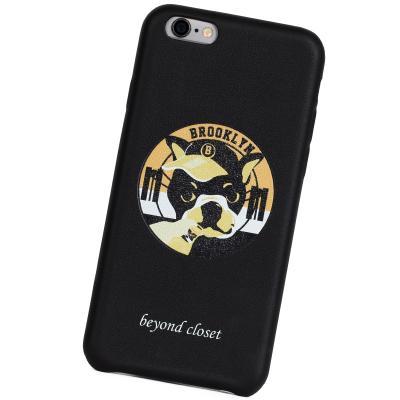 [비욘드클로젯X매니퀸] 아이폰6 케이스 -브룩클린 도그 아티피셜 레더