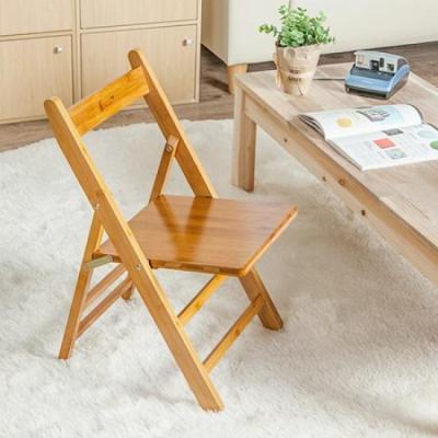 미니멀 사각 등홀 원목 의자 1P