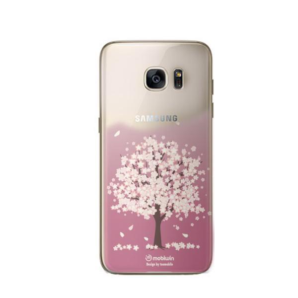 벚꽃나무 퓨어 젤리케이스(갤럭시S7엣지)