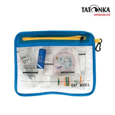타톤카 플라이트 백 Zip Flight Bag A5 (transparent)