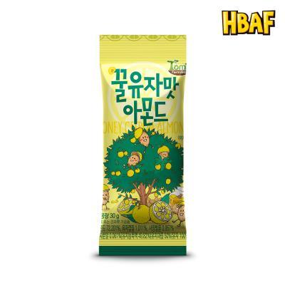 [길림양행] 꿀유자맛 아몬드 30g