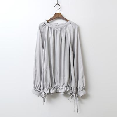 Silky String Blouse