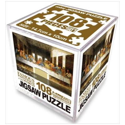 명화 직소퍼즐 108pcs: 최후의 만찬 [퍼즐 ]