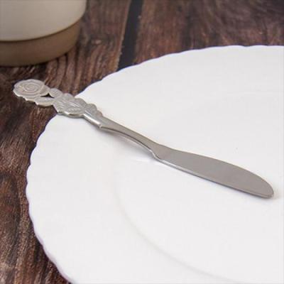 빈티지 테이블 로즈 버터나이프 소 1개