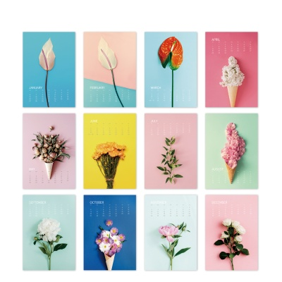 [2021 캘린더] Flower Series 1