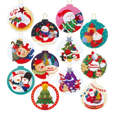 크리스마스 택 카드 FS516 (12종)