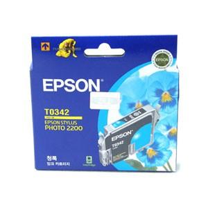 엡손(EPSON) 잉크 C13TO34270 / 청록 / Styius Photo 2200