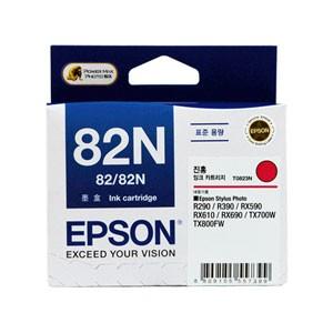 엡손(EPSON) 잉크 C13T112370 / NO.82N / 진홍 / Stylus Photo R290,R390,RX590,RX610,RX690,T50,TX650,TX700W,TX720WD,TX800FW,TX820FWD