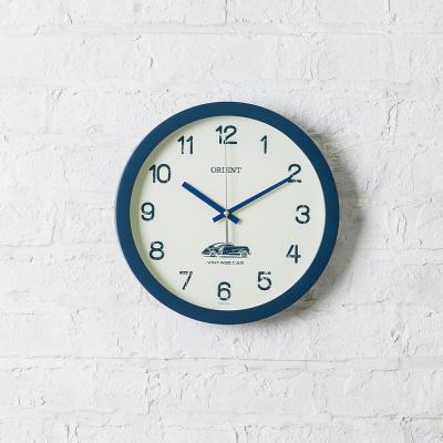 오리엔트 무소음 OT813 빈티지카블루 인테리어벽시계