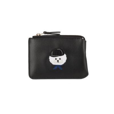 비욘드 클로젯 X 매니퀸 ILP 로고 카드지갑 블랙