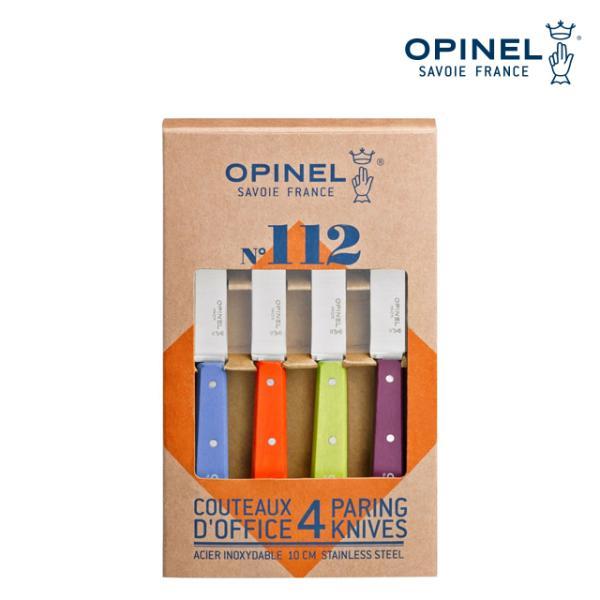 OPINEL NO.112 팝 페어링 나이프 4개 세트