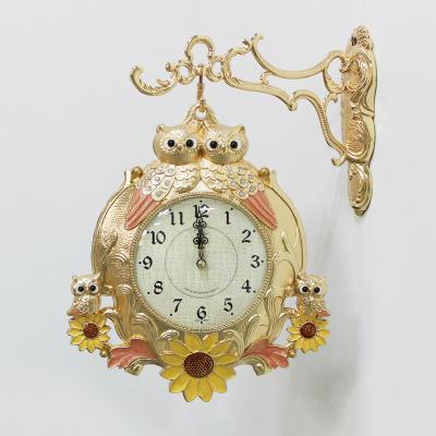 (kspz319)해바라기 쌍부엉이 양면(금)