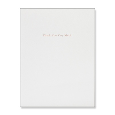홀마크 감사 카드(GOLD1)-KED2108