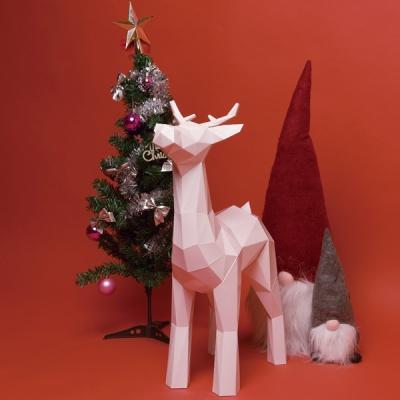 [톰텐]페이퍼크래프트 루돌프 Papercraft Rudolph