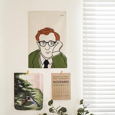 아티스트 드로잉 패브릭 포스터 / 가리개커튼