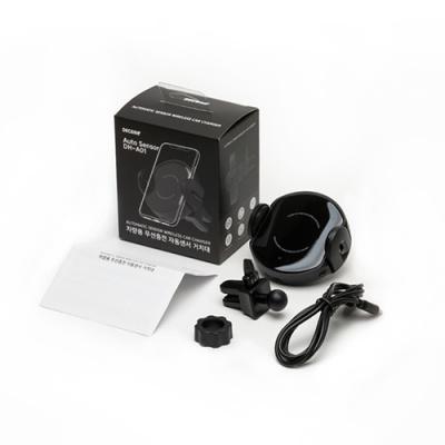 디셈 차량용 QC3.0 고속 무선충전 모션 거치대 DH-A01