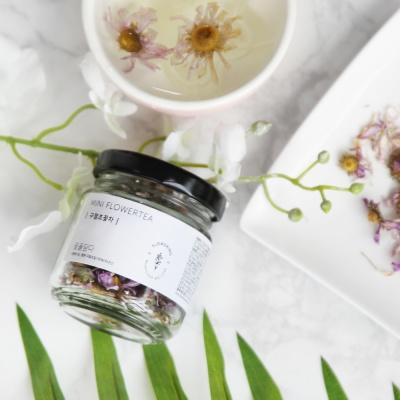 [꽃을담다]미니꽃차 2종 세트+쇼핑백