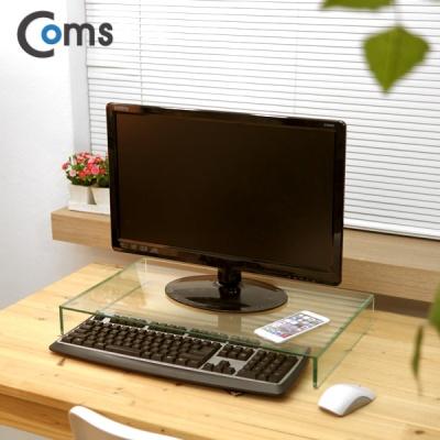 크리스탈 키보드 모니터 받침대 52X31 투명 DMLC3067