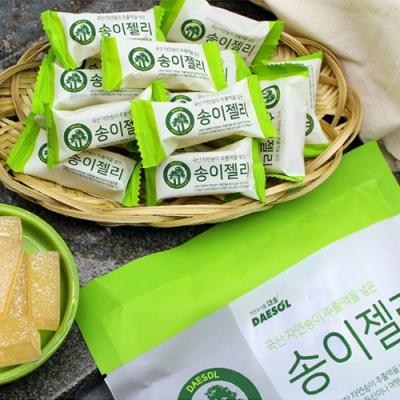[자연의 달콤함] 송이향가득 자연송이젤리 250gx2봉