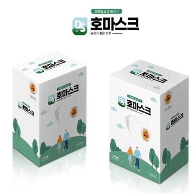 좋을호 KF-AD 비말차단 마스크 1BOX (3개입x10팩)