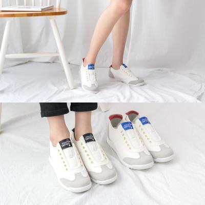 [애슬릿]화이트 배색운동화 여자스니커즈