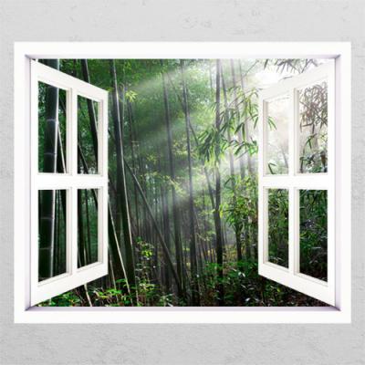 cl337-청량한대나무숲2_창문그림액자