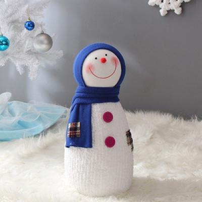 길쭉이 크리스마스 눈사람(45cm)