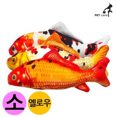 엠펫 비단잉어 캣닙 장난감 16cm (소형) (옐로우)