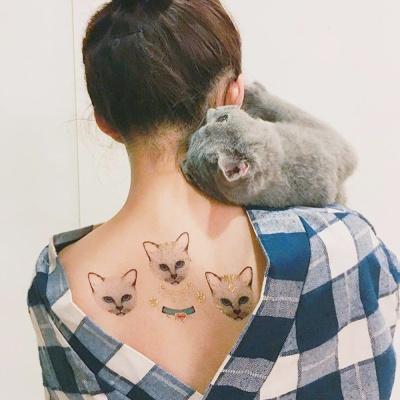 페이퍼셀프 타투스티커 - 23. Meow