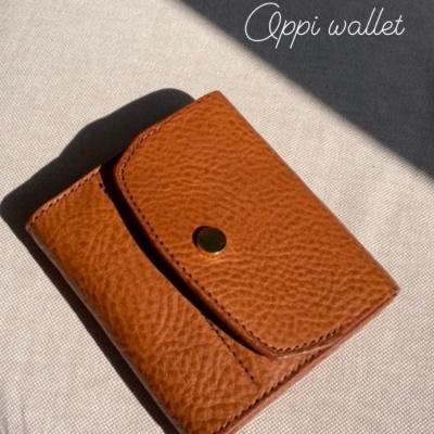 빈집 지갑 Oppi wallet 미네르바 복스 이니셜 각인