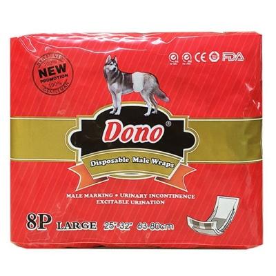 도노 숫컷 강아지용 매너패드 L (8p) 애완용품