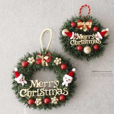 [2HOT] 크리스마스 산타 리스 15cm 1P