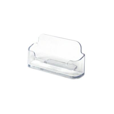 깔끔한 보관 수납용품 투명 명함꽂이 1단 97x24x47