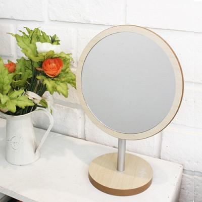 [빠띠라인]스칸디나비아 원형우드 거울 463