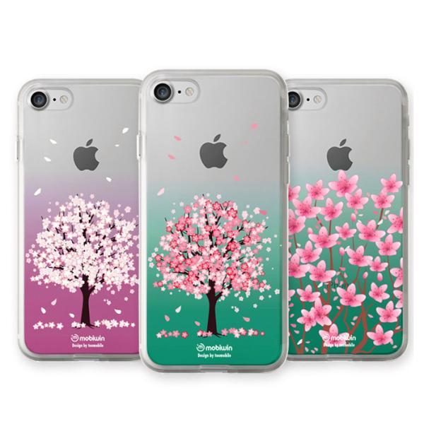 벚꽃나무 퓨어 젤리케이스(아이폰7)