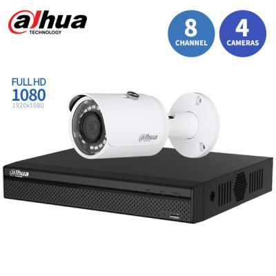 다후아 자가설치 IP 8채널 4캠 CCTV세트 DA-IP2M0804
