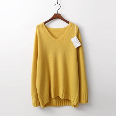 Laine Cashmere N Wool V-Neck Sweater