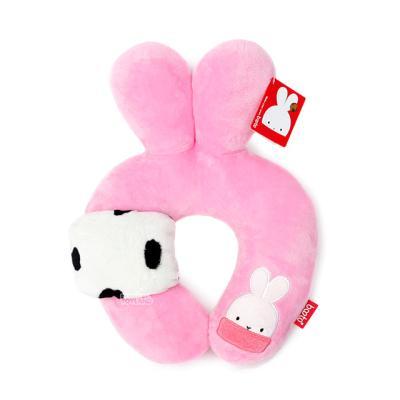 BOOTO 부토 목쿠션-핑크