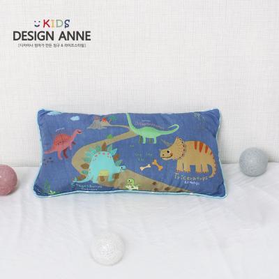 [디자인엔] 알러지케어 해피다이노 키즈솜베개
