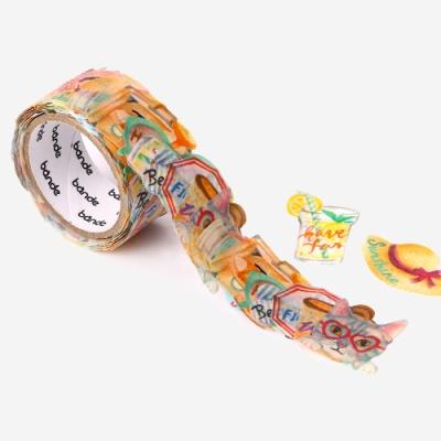[인디고샵] 반데 야옹이의 여름휴가 마스킹 테이프