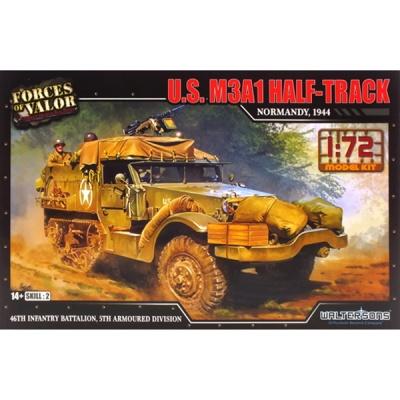미국 M3A1 하프트랙 조립킷 1944 (WTS101612KIT) M3A1 Half-truck
