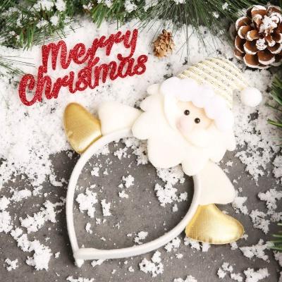 크리스마스 블론드 머리띠 (산타)