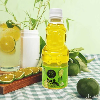 [Sweet Jeju] 자연담은 청귤 에이드 주스 330mlx16병