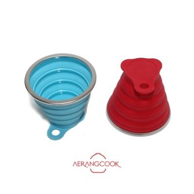 접으면 1cm 접이식 폴딩컵