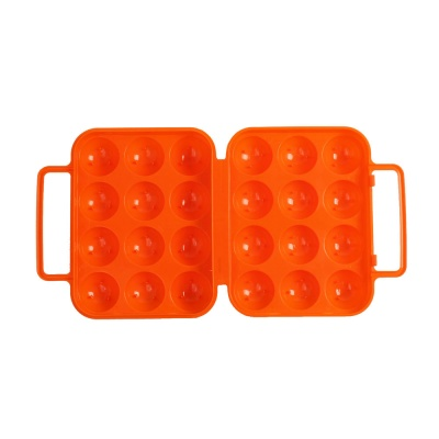 캠핑랜드 휴대용 12구 계란케이스 에그홀더 오렌지
