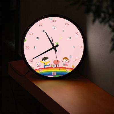 ng175-LED시계액자35R_꾸러기친구들